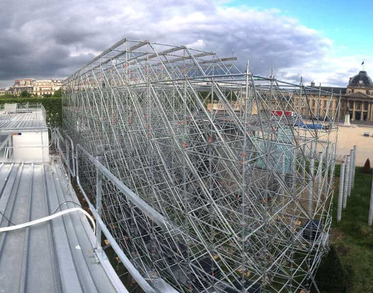 Studiounterbau Paris