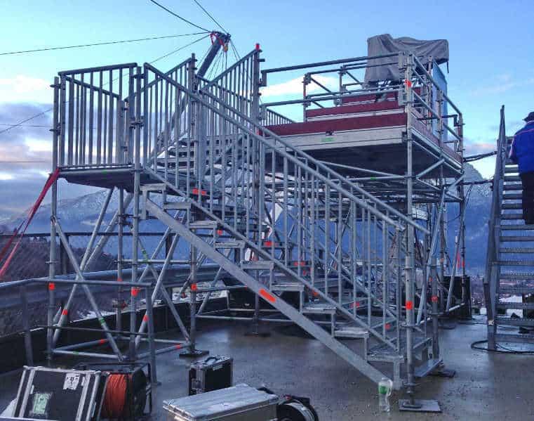 Treppenaufgang Kranpodest GAP