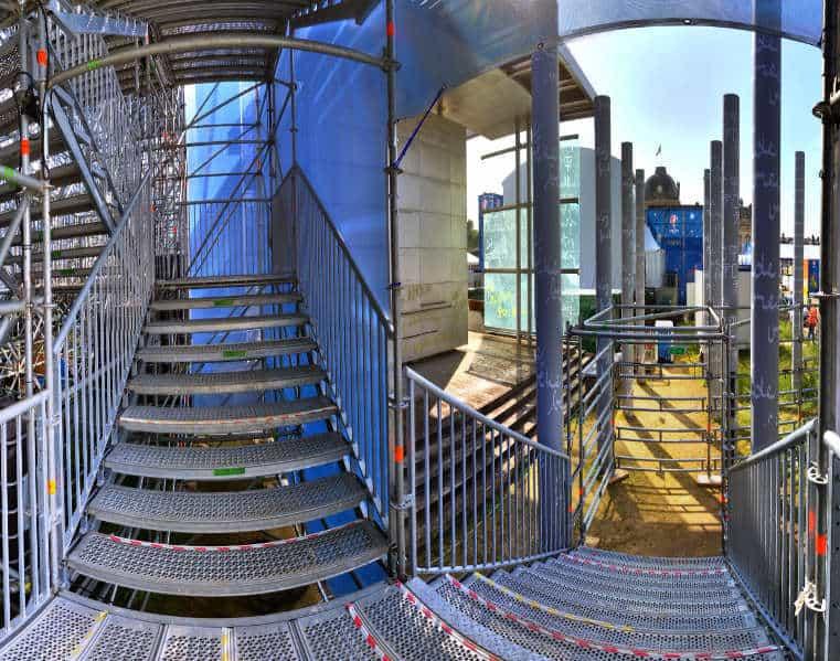 Treppenaufgang Paris