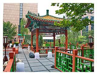 ZDF-Pagode in Peking